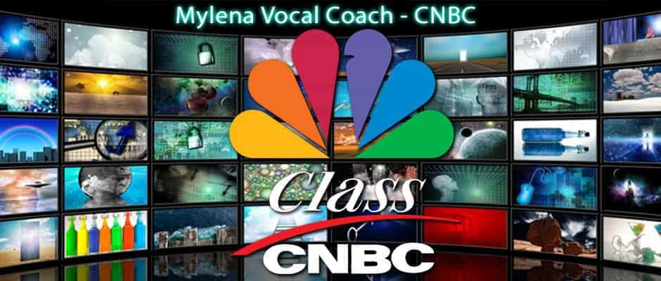 CNBC intervista Mylena Vocal Coach