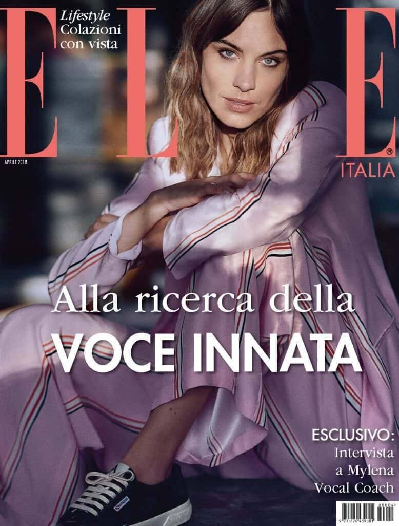 Intervista a Mylena Vocal Coach per Elle Italia