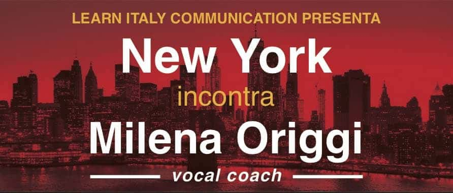 NewYork Incontra Milena Origgi
