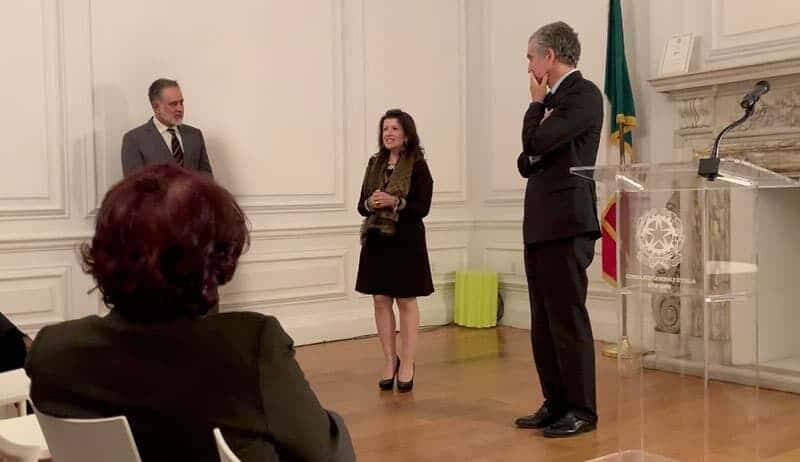 Mylena Vocal Coach invitata a parlare presso il Consolato Generale d'Italia a New York come Eccellenza Italiana nel mondo.