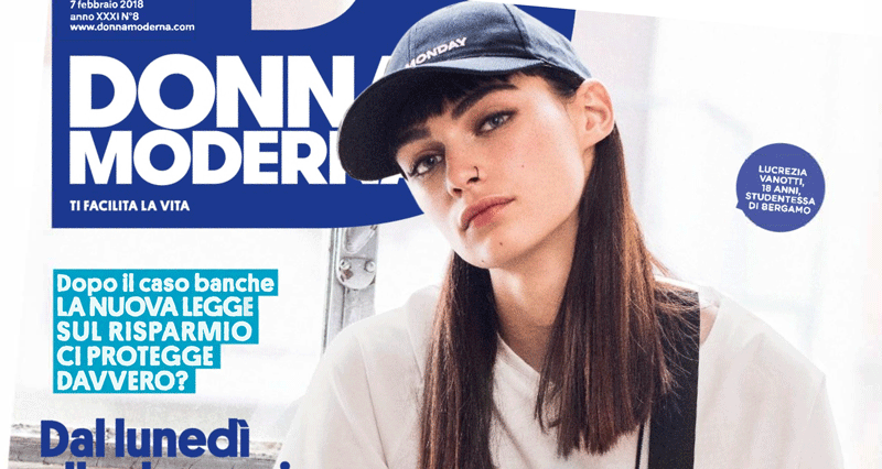 "Mylena Vocal Coach Interviewed by women's magazine ""Donna Moderna"""