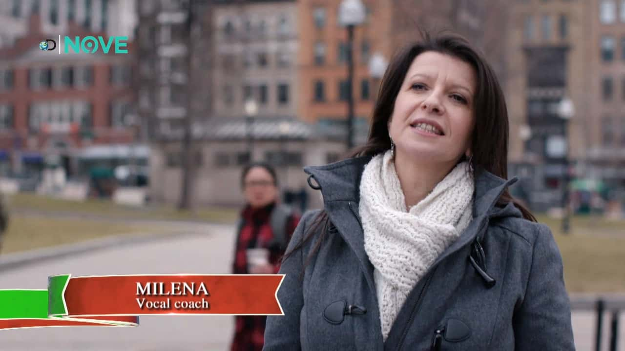 Mylena Vocal Coach aired on Discovery Network