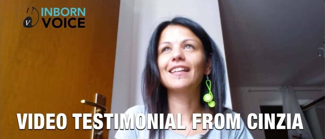 Video Testimonial from Cinzia