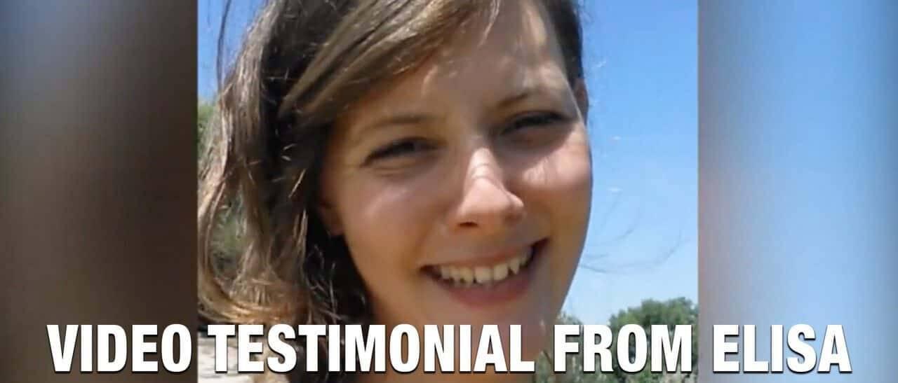 Video Testimonial from Elisa