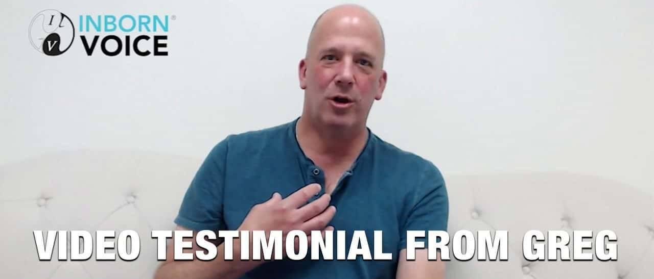 Video Testimonial from Greg