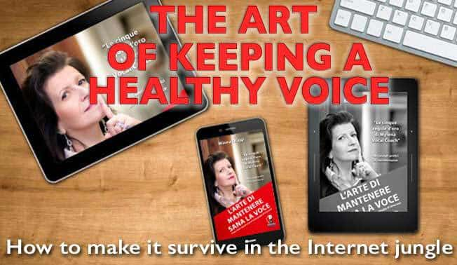 The Art of Keeping an Healthy Voice