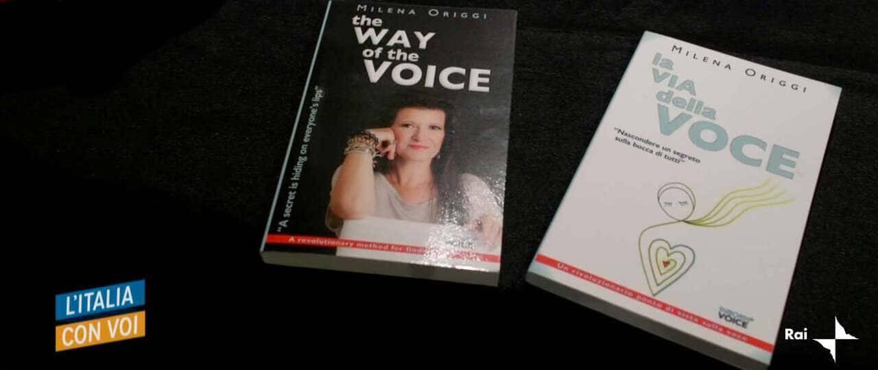 Mylena Vocal Coach aired over RAI Italia